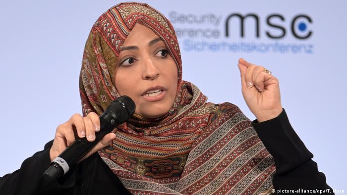 MSC: Tawakkol Karman