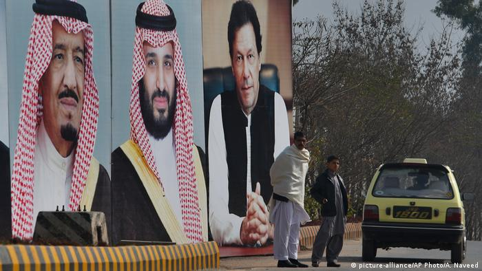 The crown prince's state visit to Pakistan was treated as the biggest since Chinese President Xi's in 2015