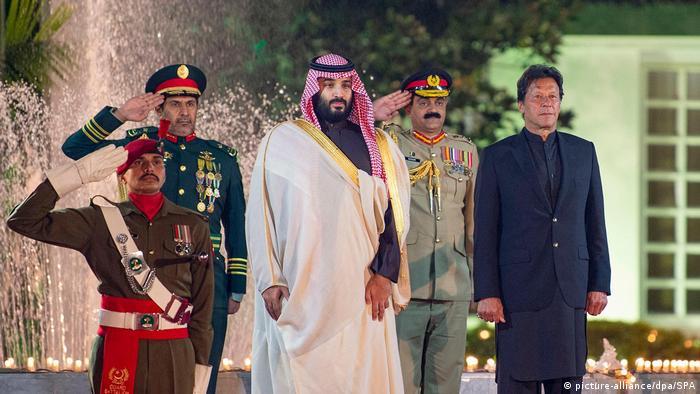 Pakistan Saudischer Kronprinz Mohammed bin Salman zu Besuch