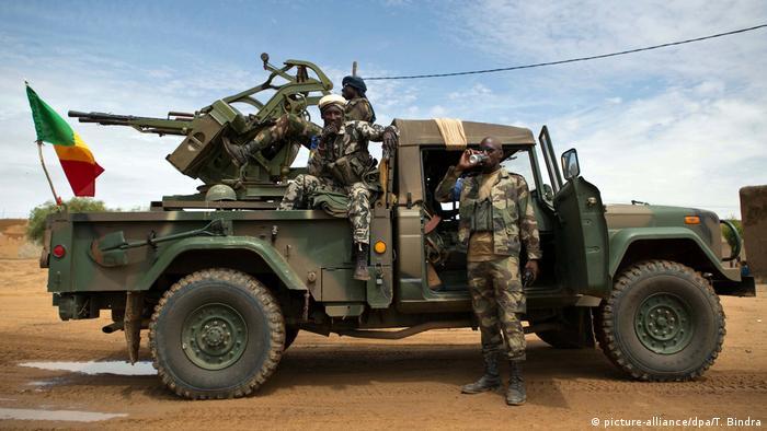 Mali Bundeswehreinsatz Symbolbild | Soldaten aus Mali