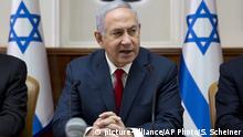 Israel Benjamin Netanyahu (picture-alliance/AP Photo/S. Scheiner)