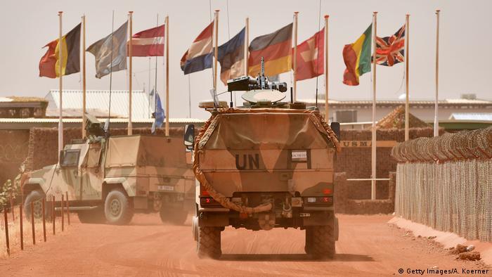 Mali Bundeswehreinsatz Symbolbild (Getty Images/A. Koerner)