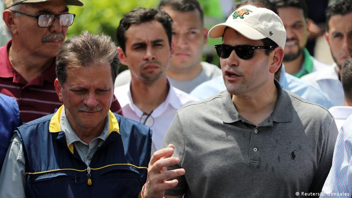 US Senator Marco Rubio in Cucuta