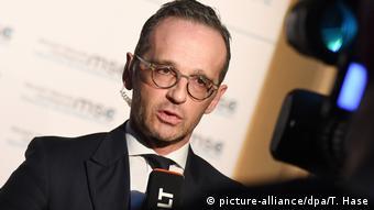 Deutschland Aussenminister Heiko Maas (picture-alliance/dpa/T. Hase)