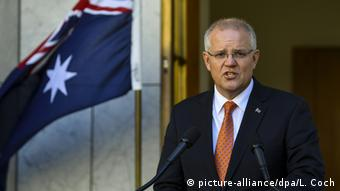 Australien Scott Morrison (picture-alliance/dpa/L. Coch)
