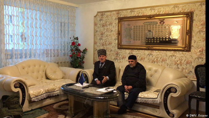 Представители совета чеченских старейшин в Берлине