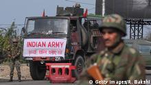 Indien Kashmir Unruhen