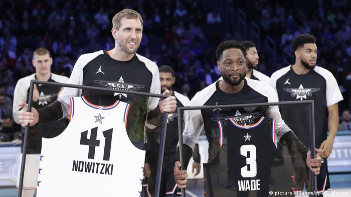 NBA Allstar-Wochenende in Charlotte (picture-alliance/dpa/C. Burton)