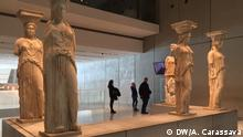 Statues at the Akropolis museum (DW/A. Carassava)