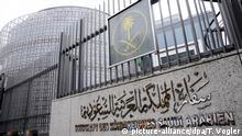 Deutschland Außenansicht der Botschaft von Saudi Arabien in Berlin