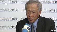MSC 2019 Ng Eng Hen, Verteidigungsminister von Singapur