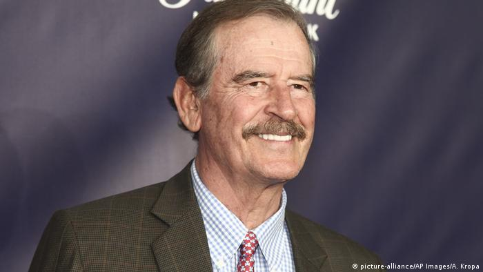 Vicente Fox in New York (picture-alliance/AP Images/A. Kropa)