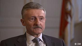 Министр внутренних дел федеральной земли Бранденбург Карл-Хайнц Шрётер