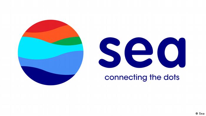Sea connecting the dots Logo (Sea)