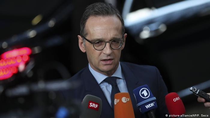 Belgien Brüssel Treffen der EU-Außenminister | Heiko Maas