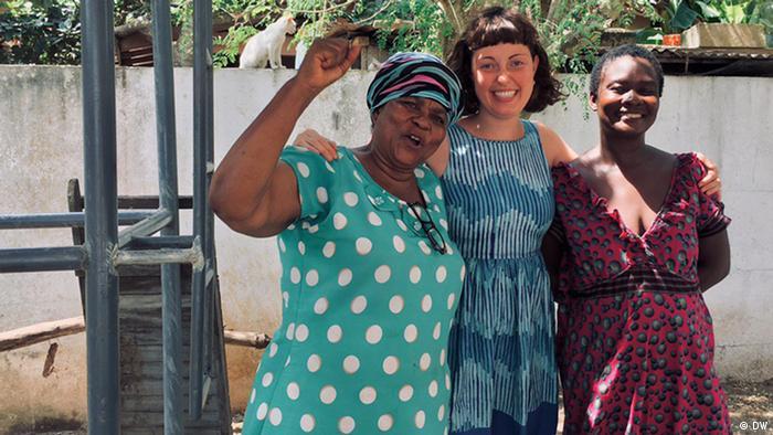 Die Freiwillige Sophie half Menschen in Ghana und Namibia
