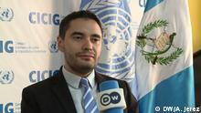 Guatemala Matías Ponce, Sprecher der International Commision Against Impunity in Guatemala (CICIG)