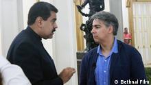 Der ehemalige chilenische Präsidentschaftskandidat Marco Enríquez-Ominami interviewte Nicolas Maduro, José Mujica und anderen Politikern für den Dokumentarfilm Südamerika: Das Scheitern des Linken. (c) Bethnal Film