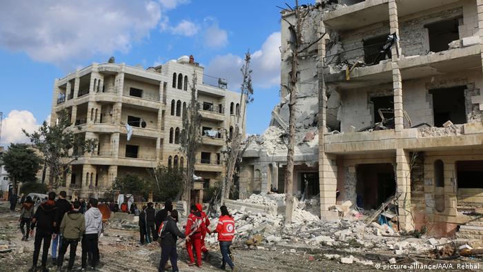 Syrien Anschlag in Idlib