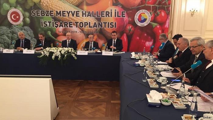 Türkei Sitzung zu Marktgesetzen in Ankara (DW/P. Ünker)