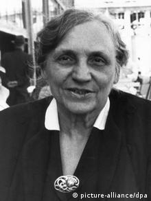 Μαρί Γιουχάζ, Γερμανίδα πολιτικός και υπέρμαχος των δικαιωμάτων των γυναικών (picture-alliance/dpa)