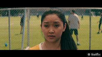 Screenshot from the Netflix movie To All the Boys I've Loved Before