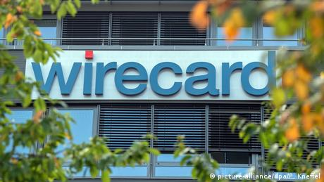 A sign on Wirecard's head office in Munich (picture-alliance/dpa/P. Kneffel)