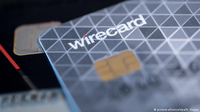 A Wirecard payment card (picture-alliance/dpa/S. Hoppe)