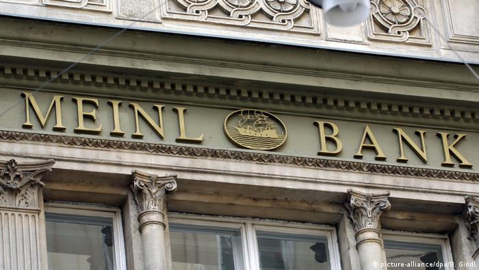 Österreich Meinl Bank Unternehmenszentrale in Wien