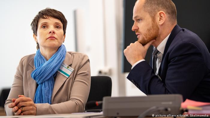 Frauke Petry in court (picture-alliance/dpa/M. Skolimowska)