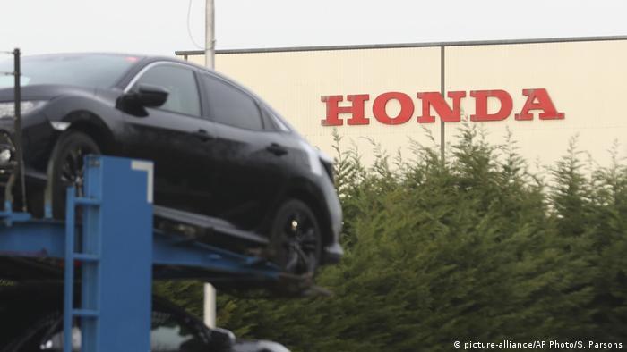 The Honda auto factory in Swindon, England