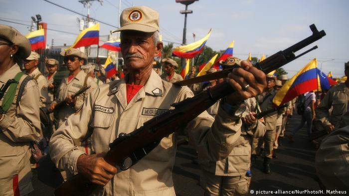 Акция в поддержку Николаса Мадуро