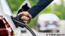 Elektrisches Laden eines VW e-Golf