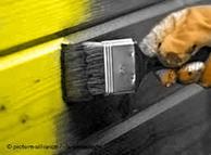 Amarillo (FDP) y negro (CSU y CSU) son los colores políticos de la futura coalición de gobierno en Alemania.