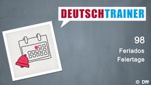 DEUTSCHKURSE | Deutschtrainer | Folge 98 | 098_000d_Titelfolie_POR