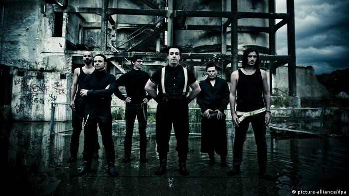 German band Rammstein (picture-alliance/dpa)