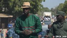 Presidential election's campaign in Senegal presenting three candidates. Ousmane Sonko Author : our correspondent Robert Adé