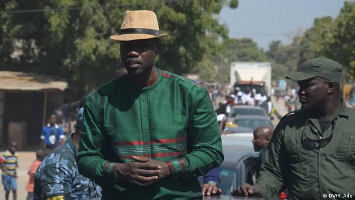 Opposition leader Ousmane Sonko