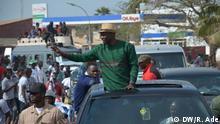 Senegal Präsidentschaftswahlen Wahlkampagnen Ousmane Sonko