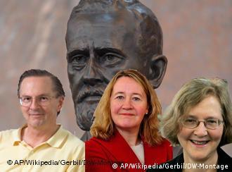 الیزابت بلکبرن، کارول گریدر و جک ژوستاک، برندگان نوبل پزشکی در سال ۲۰۰۹