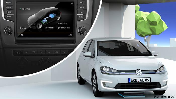 У майбутньому зарядити електромобіль можна буде і без кабелю