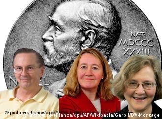 Οι τρεις επιστήμονες που μοιράζονται το Νόμπελ ιατρικής: Jack Szostak, Carol Greider και Elizabeth H. Blackburn