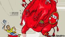 "Karikatur von Eduardo ""Edo"" Sanabria"