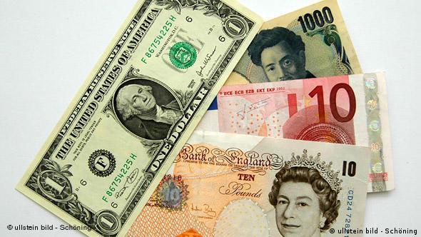Dolar, euro, funta i jen