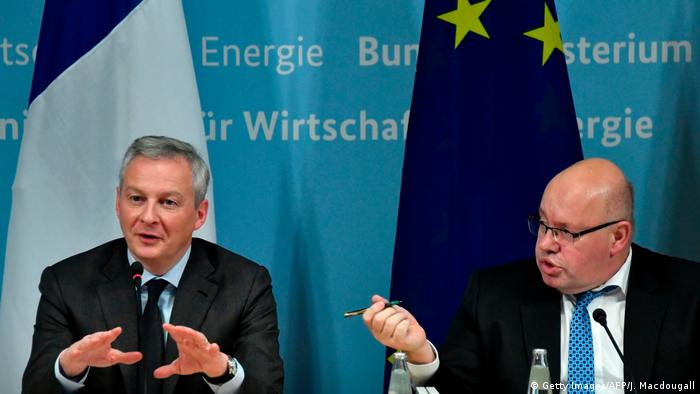 Bruno Le Maire and Peter Altmaier in Berlin