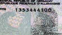 Deutscher Personalausweis mit Fingerabdruck, Speicherung biometrischer Daten | Verwendung weltweit, Keine Weitergabe an Wiederverkäufer.