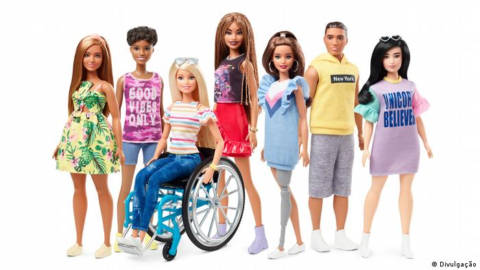 The Barbie 2019 collection displays a many different Barbies