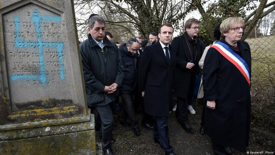 Macron verspricht Vorgehen gegen Antisemitismus