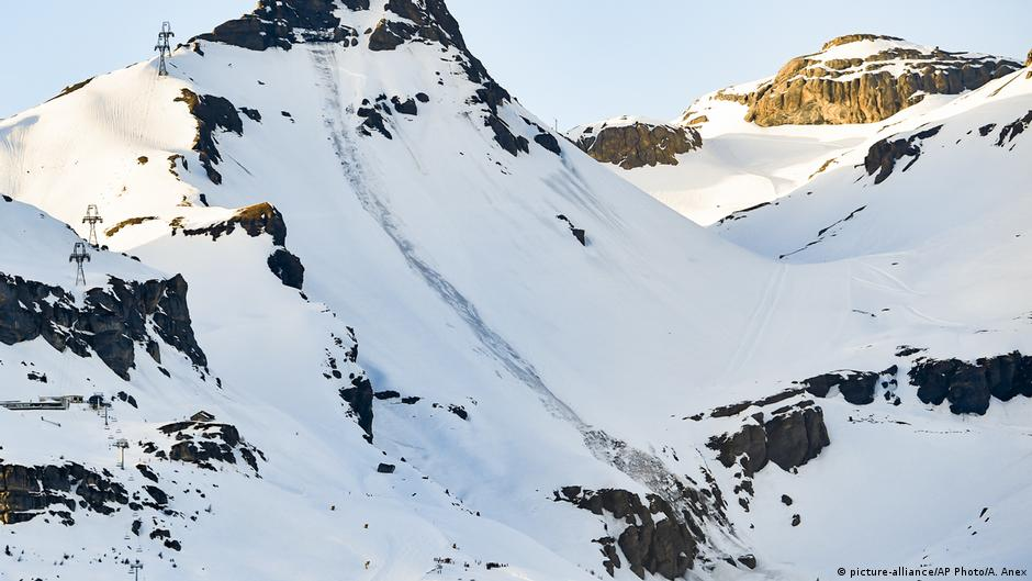 Living Planet: Alpine avalanches increase as glaciers melt