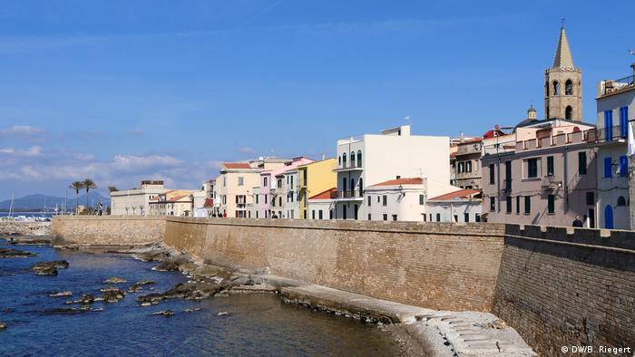 Gradić Alghero na Sardiniji